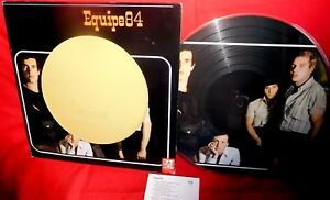 EQUIPE 84 PDK Picture Disk LP 1995 ITALY MINT- Lim Edt N° 0440