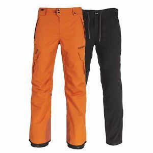 686 Mens SMARTY 3-in-1 Cargo Ski Snowboard Pant Copper Large