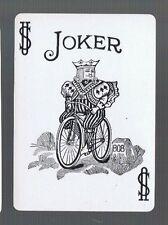 Playing Swap Cards 1 GENUINE  VINT  WIDE U.S. JOKER/JOKERS  BICYCLE  BIKE  688