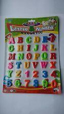 36pc letras y números magnéticos imanes para refrigerador Niños Bebé Alfabeto y Números