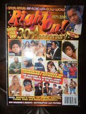 Right On! Magazine 30th Anniversary 1971-2001