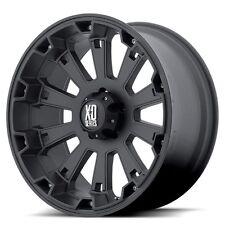 18 Inch Black Wheels Rims Dodge RAM 2500 3500 8x6.5 Lug XD Series Misfit NEW