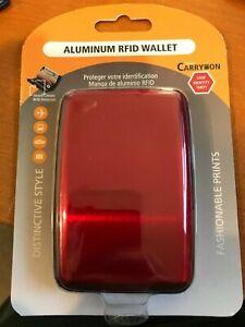 Brand New aluminum credit card wallet rfid blocking case