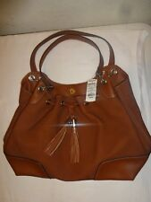 Chaps Women's Shoulderbag Brown with drawstring nwt medium size