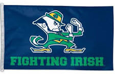 3 x 5 ft. University of Notre Dame Flag, Printed Polyester Fabric