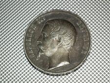 "Frankreich Zinn Medaille ""Napoleon III - Palais de l'industrie 1855"""