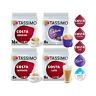 Tassimo T - Discs Kaffee Pods Costa Cappuccino Latte Americano Cadbury Hot