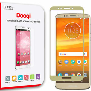 For Motorola Moto E5/G6 Play/G6 Forge Full Cover Tempered Glass Screen Protector