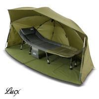 Lucx® Ovall Shelter Brolly Angelzelt 5000mm Gepard Angelschirm Bivvy