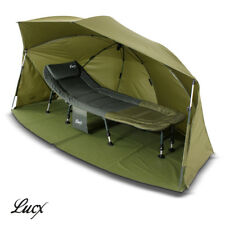 Lucx® Ovall Shelter Brolly Angelzelt 5000mm Gepard Angelschirm Bivvy