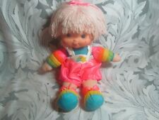 Vintage Hallmark 1983 Rainbow Brite Tickled Pink Baby Doll • 15 Inches