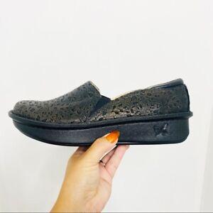 Alegria Debra Treasure Slip On Embossed Shoe NEW Women's Size 10.5/11