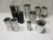 Lot Asstd Capacitors, Mallory, Ge, 1500mfd, 8800mfd, 12,500mfd, 22000mfd, More!