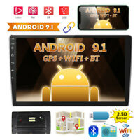 """10.1"""" Android 9.1 Car Stereo Radio GPS Navi 2Din Wifi FM Mirror Link MP5 Player"""