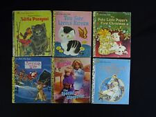 Little Golden books lot BB,12 different, some vintage, see pictures, most v good