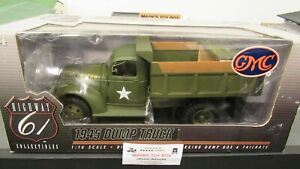 DCP#50341 HWY 61 48 1945 US ARMY GMC / CHEVY DUMP TRUCK NEW OLD STOCK 1:16/PC