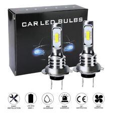 H7 Led Headlight Bulbs Conversion Kit Super High/Low Beam 8000 Lm 6000K White