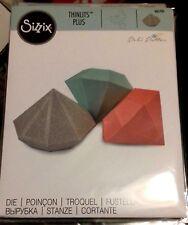 Sizzix Die Cutter Thinlits Diamond Box 661701 Fits Big Shot Plus & Big Shot Pro