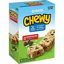 Quaker Chewy Granola Bars Whole Grain Chocolate Chip Flavor Variety Pack 58 Pack