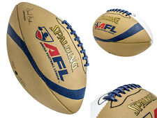 Spalding AFL Arena Football League Autograph  Leather Full Size Football