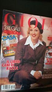 Gioia 6 1993 Madonna Audrey Hepburn Federico Fellini Monica Bellucci Louis Malle