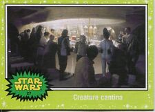 Star Wars JTTFA Green Parallel Base Card #27 Creature cantina
