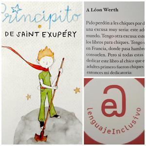 El principito Le Petit Prince Lenguaje Inclusivo Argentina