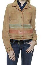 Taillenlang Damenjacken & -mäntel mit Leder und Knöpfe