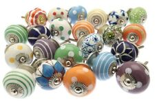 Wholesale 10-Pc Ethnic Cupboard Handles Drawer Knobs Ceramic Door Kitchen Knobs