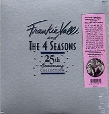 Frankie Valli & the 4 Seasons - 25th Anniversary (4LP) vinyl 1987 set  SEALED