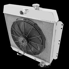 "1949-1954 Chevy Cars V8 Conversion Champion 3 Row Radiator & 16"" Cooling Fan"