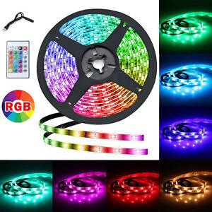 5050 RGB LED STRIP LIGHTS COLOR CHANGING TAPE UNDER CABINET KITCHEN LIGHTING 2M