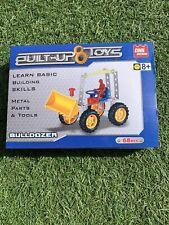 Construido Juguetes Bulldozer 68 un.
