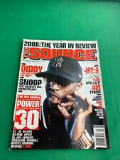 The Source Magazine JANUARY 2007 - DIDDY COVER - HIP-HOP RAP