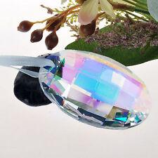 Colorful Crystal Suncatcher Chandelier Lamp Prism Part Hanging Drop Pendant 76mm