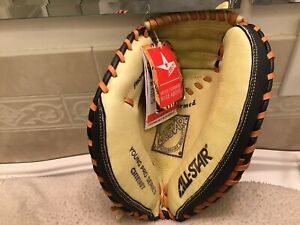 """All Star CM1010BT 29"""" Youth Baseball Catchers Mitt Left Hand Throw"""