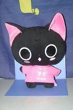 "The Gothic World of Nyanpire Black Cat T-shirtt Big Plush Doll in JPN 16"""