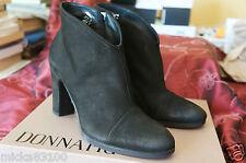 Donna Piu Paola Nabuk, Chaussures basses femme - Noir (Nero), 38 EU // italia