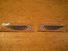 NOS Mint Prewar Columbia Bicycle Tank Wing Decal Set Peel $ Stick