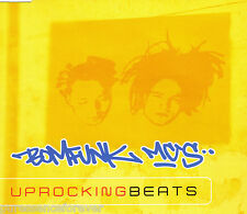 BOMFUNK MC'S - Uprocking Beats (UK 3 Trk CD Single)