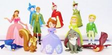 SOFIA THE FIRST 12 Figure Set DISNEY PRINCESS PVC TOY Cake Topper FAIRIES Queen!
