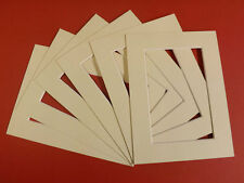 25 IVORY PICTURE MOUNTS 40 x 30  for A4