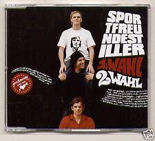 """SPORTFREUNDE STILLER, """"1 Wahl (2 Wahl)"""", CDS + video"""
