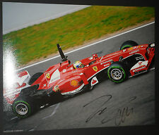 FELIPE MASSA SIGNED 8x10 PHOTO UNFRAMED + PHOTO PROOF & C.O.A