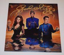 Fred Schneider & Kate Pierson Signed THE B-52's 12x12 Album Flat Photo COA VD