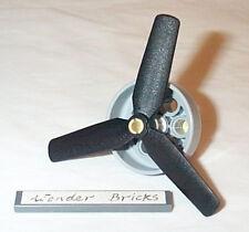 Lego Airplane Engine Head 3-Blade Propeller 7198 Bi-plane Rotor