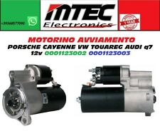 MOTORINO AVVIAMENTO PORSCHE Cayenne VW Touareg AUDI Q7 12V 0001123002 0001123003
