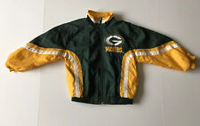 Vintage NFL Green Bay Packers Kids Touchdown Club Jacket Size - 5T By Mighty Mac