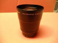 CANON TELE-CONVERTER TC-DC52 2.4X Lens made in Japan