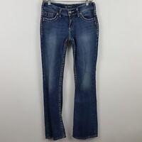 Silver Suki Boot Cut Women's Medium Wash Blue Jeans Size 28 x 34